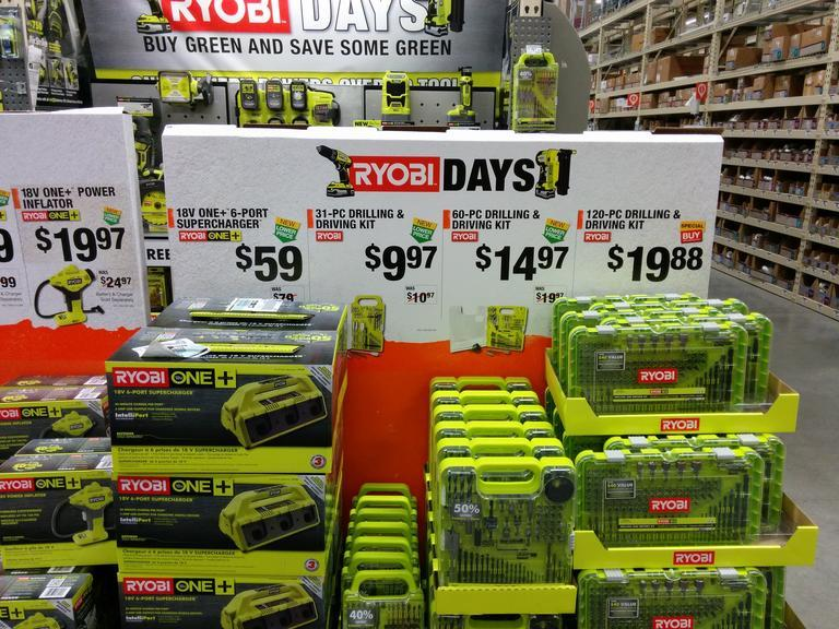 Try These Home Depot Memorial Day Sale 2019 Ryobi {Mahindra Racing}